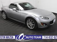 Easy to live with and easy to love, our 2011 Mazda MX-5