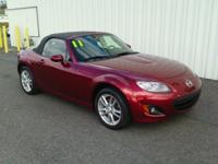 2011 Mazda Miata Odometer is 17212 miles below market