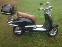 I bought this moped for my son brand new of March 2014,