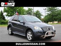 This 2011 Mercedes-Benz M-Class ML 350 is proudly