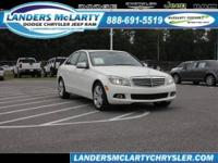 Looks fantastic! This 2011 Mercedes-Benz C-Class C300