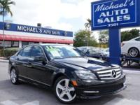 Options:  2011 Mercedes-Benz C-Class C300|Black|In A