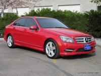 C 300 trim. ONLY 56,398 Miles! Moonroof, Bluetooth, CD
