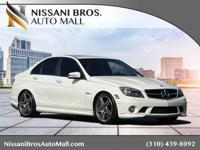 White 2011 Mercedes-Benz C-Class C 63 AMG RWD 7-Speed