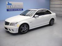C63 AMG - 451 HP - POWER SUNROOF - HEATED LEATHER SEATS