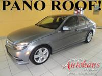 This C300 4Matic is a sport package and is equipped