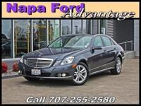 Grand and graceful, this 2011 Mercedes-Benz E-Class