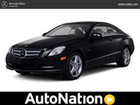 2011 Mercedes-Benz E-Class Our Location is: