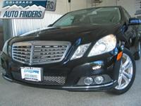 2011 Black Mercedes E350 4Matic Denver/Aurora. This