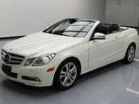 This awesome 2011 Mercedes-Benz E-Class comes loaded
