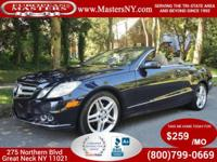 This Incredible Blue 2011 Mercedes-Benz E350