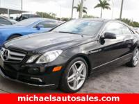 Options:  2011 Mercedes-Benz E-Class E 350|Black|Black