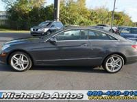 Mercedes Benz E350 Coupe with P1 and Appearance