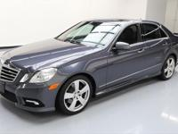 This awesome 2011 Mercedes-Benz E-Class 4x4 comes