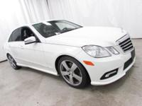 Options:  2011 Mercedes-Benz E-Class E 350|White|Recent
