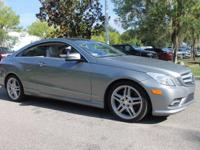 This 2011 Mercedes-Benz E-Class E550 in Palladium
