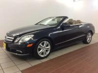 Classy! 2011 Mercedes Benz E350 Convertible finished in