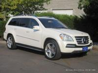 2011 GL550 7-passenger sport utility in Diamond White