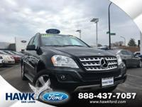 Black 2011 Mercedes-Benz M-Class ML 350 4MATIC  4MATIC