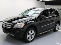 This awesome 2011 Mercedes-Benz M-Class 4x4 comes