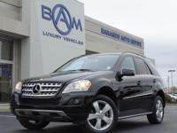 2011 Mercedes-Benz M-Class ML 350 in Black and Cashmere