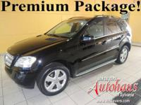 This ML350 4Matic has 4 new tires, all of the