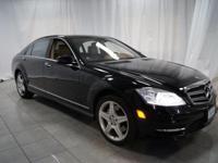 ** 2011 Mercedes-Benz S-Class in Black AURORA