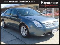 2011 Mercury Milan, Steel Blue, Sunroof / Moonroof,