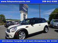 Excellent Fuel Economy!! 2011 MINI Cooper CLUBMAN...