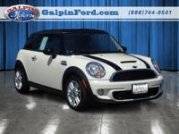 2011 Mini Cooper 2dr Car S Our Location is: Galpin Ford