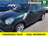 *DESIRED FEATURES:* a PANORAMIC ROOF, a DUAL MOONROOF,