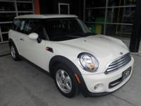 Clubman trim. CARFAX 1-Owner, MINI Certified, LOW MILES