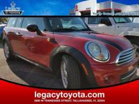Clean CARFAX. New Price! Cooper Clubman, 2D Coupe,