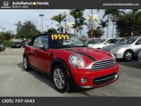 This MINI consists of: CHILI RED * Note - For third