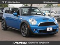 This 2011 MINI Cooper Convertible 2dr 2dr S Convertible