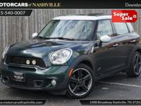 This 2011 MINI Cooper Countryman 4dr AWD 4dr S ALL4