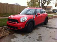 I am selling a 2011 Mini Countryman S. It has the