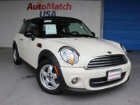 Check out this gently-used 2011 MINI Cooper Hardtop we