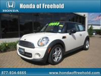 Honda of Freehold presents this 2011 MINI COOPER