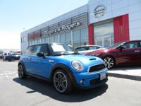 Clean CARFAX. 2011 MINI Cooper S FWD 6-Speed Automatic