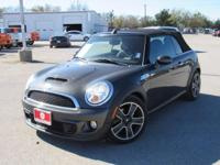 Leather. Clean CARFAX. Gray 2011 MINI Cooper S FWD