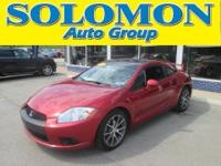 THIS 2011 MITSUBISHI ECLIPSE GS FEATURES A 2.4L I4,