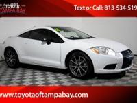 Options:  2011 Mitsubishi Eclipse Gs Sport|White|Toyota