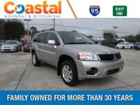 This 2011 Mitsubishi Endeavor LS in Silver features: