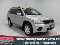 This 2011 Mitsubishi Endeavor is a well-rounded and