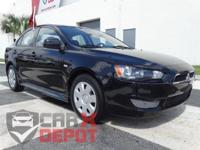 Options:  2011 Mitsubishi Lancer Es|Black|**Clean