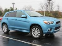 1 Owner and Carfax Certified. Outlander Sport SE and 4D