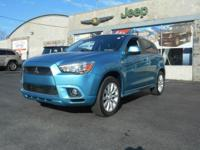 Take command of the road in the 2011 Mitsubishi