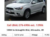This 2011 Mitsubishi Outlander Sport AWD 4DR CVT SE is