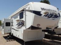 2011 Montana 3665RE 5th Wheel, Rear Living Room,